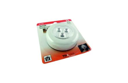 LED éjjeli mozgásérzékelös lámpa TR 232, fehér
