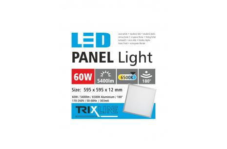 mennyezeti LED panel TRIXLINE - 60W nappali lámpa