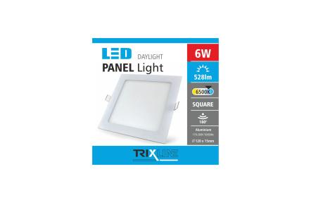 mennyezeti LED lámpa TRIXLINE – négyszögletes 6W