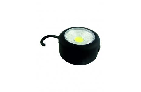 LED lámpa kampóval, mágnessel TR C218 3W COB