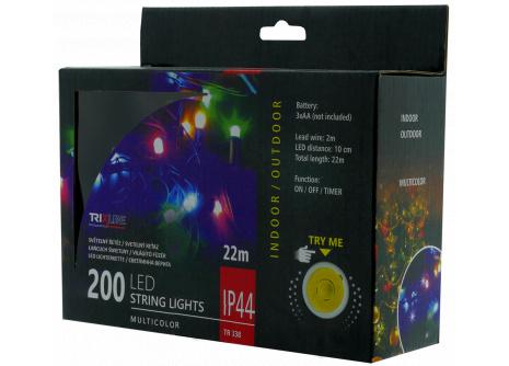 Karácsonyi LED fényfüzér TR 338 multicolor