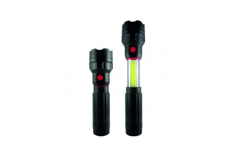 LED teleszkopikus lámpa  TR C224 3W COB + 3W