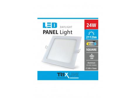 Mennyezeti LED lámpa TRIXLINE – négyszögletes 24W