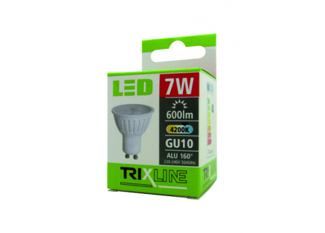 LED izzó BC TR 7W GU10 hideg fehér