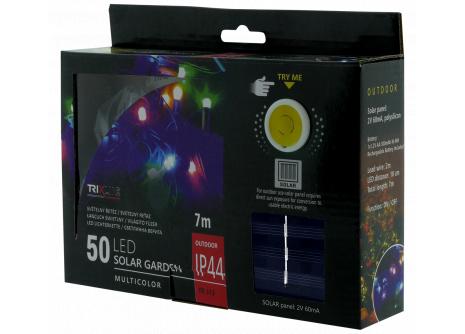 Napelemes karácsonyi LED fényfüzér  TR 318 multicolor