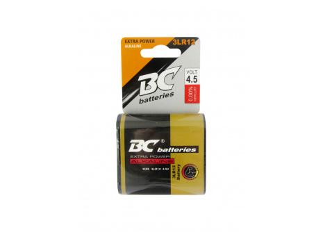 alkáli lapos 4,5V elemek BC 3LR12/1P