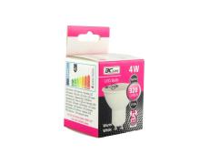 LED izzó 4W GU10 meleg fehér 5 év garancia