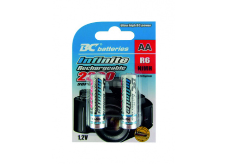 újratölthetö 1,2V ceruza elemek BCR6/2300/2BP RTU Infinite