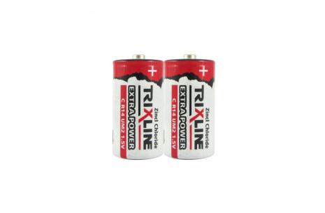 ZnCl 1,5V baby elem BC R14/2P TRIXLINE Extra power