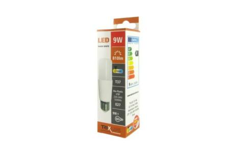 LED izzó Trixline 9W meleg fehér