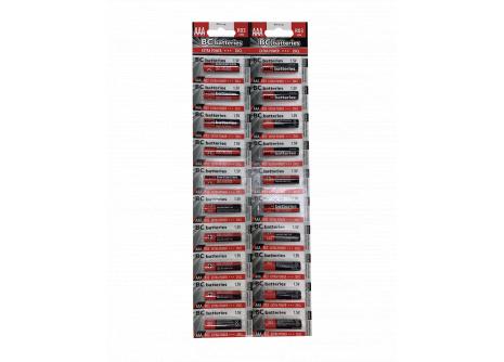 BC batteries Extra Power zinkochloridová AAA mikrotužková baterie 1,5V R03 BLISTR