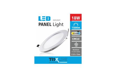 Mennyezeti LED lámpa TRIXLINE – kerek 18W