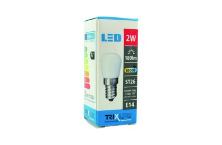LED izzó BC TR 2W E14 ST26 jégszekrényekbe, mélyhütökbe