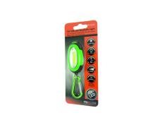 LED lámpa karabinerrel, mágnessel, ABS felülettel TR C215 1W COB