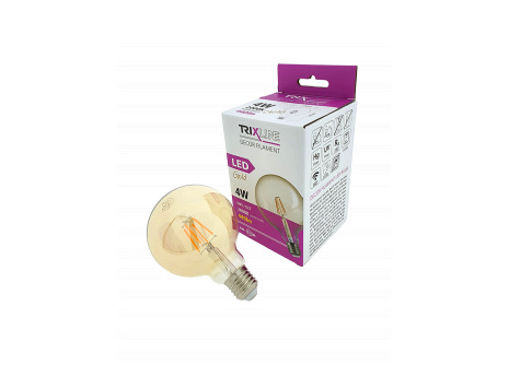 dekorációs LED izzó FILAMENT Trixline 4W G-95 E27