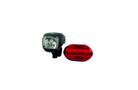 LED lámpák készlete  kerékpárra TR C244