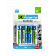 BC batteries alkalická AA tužková baterie 1,5V LR6