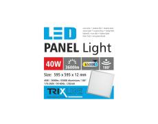 mennyezeti LED panel TRIXLINE - 40W nappali lámpa