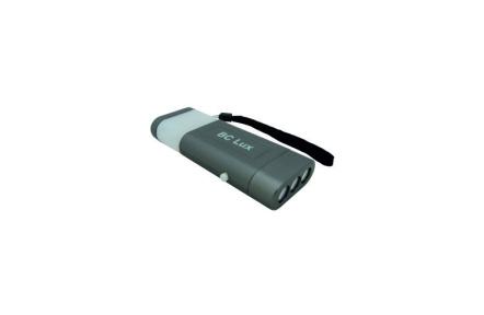 BC 6 LED Flashlight - 3+3LED 2v1 szürke