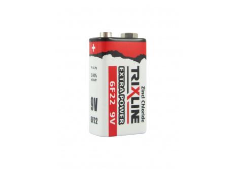 ZnCl 9V elem BC 6F22/1P TRIXLINE Extra Power