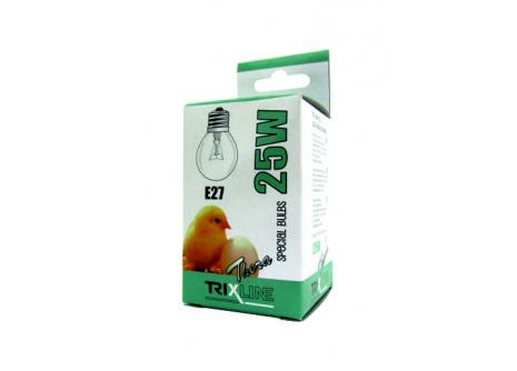 speciális izzó BC G45W E27 meleg fehér