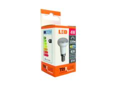 LED izzó BC TR 4W E14 R39 meleg fehér