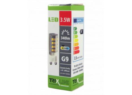LED izzó BC TR 3,5W G9 hideg  fehér