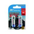 újratölthetö  1,2V ceruza elemek BCR6/3000/2BP