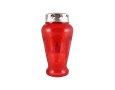LED-es temetö  gyertya váza alakú