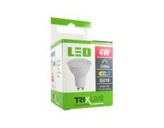 LED izzó BC TR 4W GU10 hideg fehér