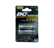 újratölthetö 1,2V ceruza elemek BCR6/2200/2BP