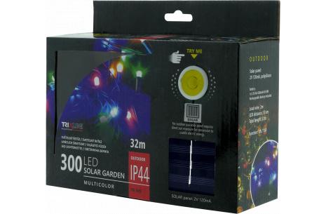 Napelemes karácsonyi LED fényfüzér TR 349 multicolor