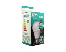 LED izzó 12W A60 E27 hideg fehér 5 év garancia