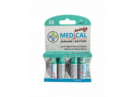 Medical alkalická AA tužková baterie 1,5V LR6