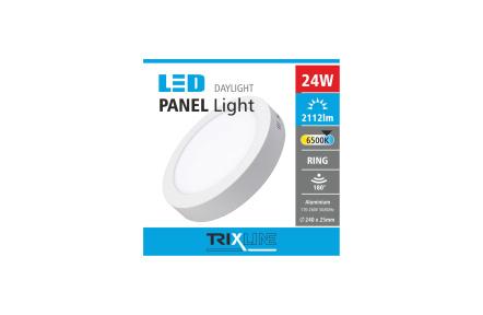 Mennyezeti LED lámpa TRIXLINE – felületre szerelhetö 24W
