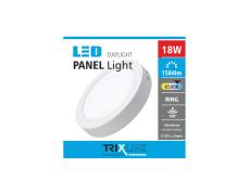 Mennyezeti LED lámpa TRIXLINE – felületre szerelhetö, kerek 18W