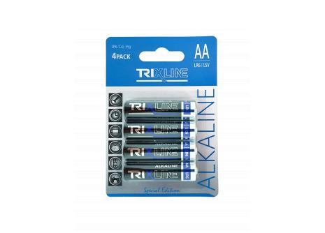 alkáli ceruza 1,5V elemek BCRL6/4BP TRIXLINE