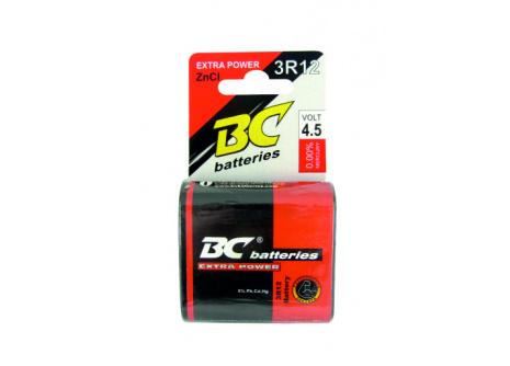 ZnCl 4,5V lapos elemek BC 3R12/1P