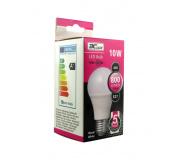 LED izzó 10W A60 E27 meleg fehér 5 év garancia