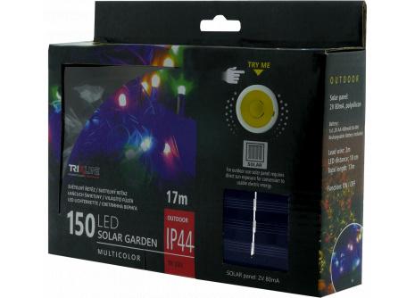 Napelemes karácsonyi LED fényfüzér TR 333 multicolor