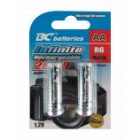 újratölthetö 1,2V ceruza elemek BCR6/2600/2BP RTU Infinite