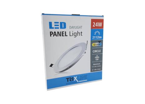 Mennyezeti LED lámpa TRIXLINE – kerek 24W