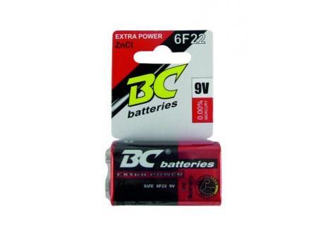 ZnCl 9V elemek BC 6F22/1P