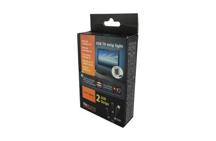Távirányításos LED RGB szalag TV/PC - hez