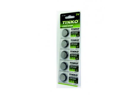 Lithiumos 3V-os gombelem TINKO CR1632