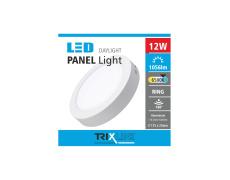 Mennyezeti LED lámpa TRIXLINE – felületre szerelhetö kerek 12W nappali lámpa