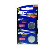 lítium  3V gombelemek BCCR 2016