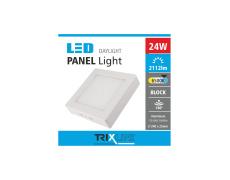 Mennyezeti LED lámpa TRIXLINE – felületre szerelhetö négyszögletes 24W