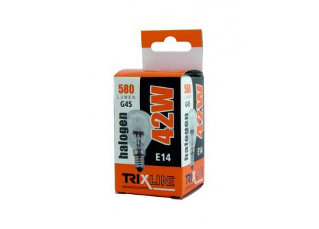 Halogén izzó BC 42W E14 G45 meleg fehér