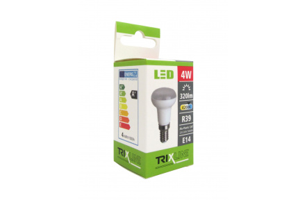 LED izzó BC TR 4W E14 R39 hideg fehér